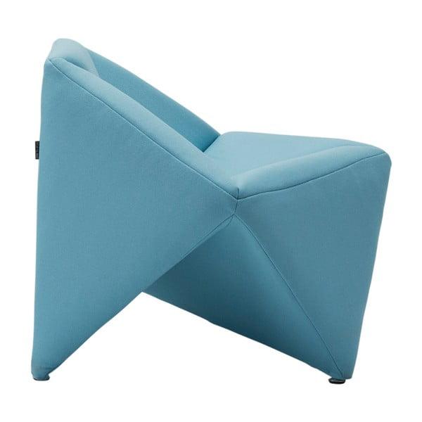 Modré křeslo Softline Fold