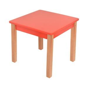 Červený dětský stolek Mobi furniture Mario