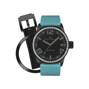 Dámské hodinky Marc Coblen s páskem a kroužkem navíc P47