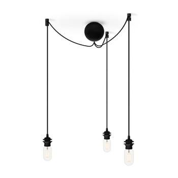 Cablu suspensie triplă pentru corpuri de iluminat VITA Copenhagen, negru de la VITA Copenhagen