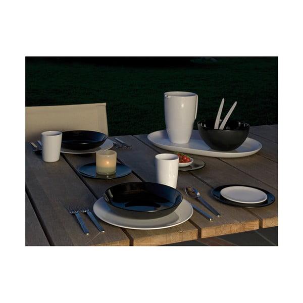 Talíř Venezia 14 cm, černý