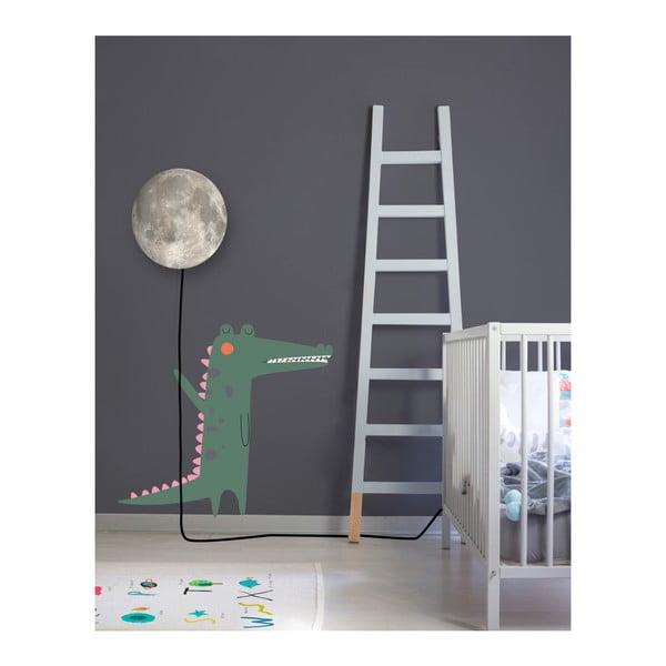 Nástěnná lampa s nálepkou Little Nice Things Moon