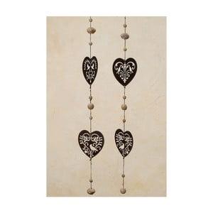 Girlanda Heart Nature, 110 cm