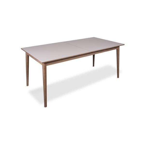 Rozkládací jídelní stůl se světlou deskou WOOD AND VISION Sesame, 175 x 90 cm