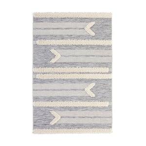 Šedý koberec Mint Rugs Handira Arrow, 77x150cm