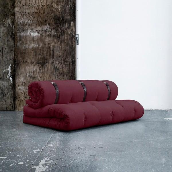 Canapea extensibilă Karup Buckle Up Bordeaux