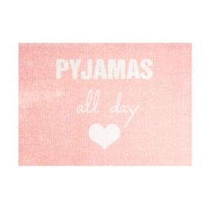 Růžová rohožka Mint Rugs StateMat Pyjamas All Day,50x75cm
