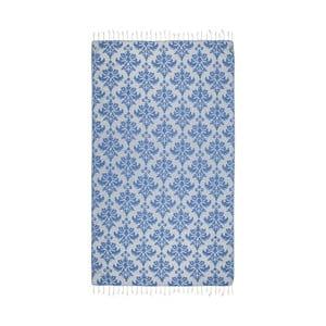 Prosop baie hammam Kate Louise Serafina, 165 x 100 cm, albastru