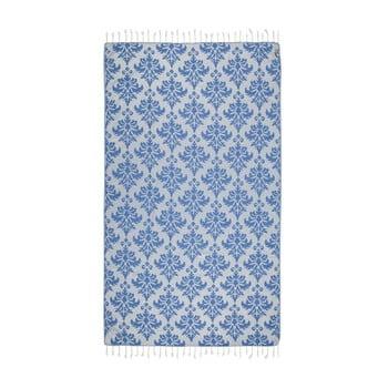 Prosop hammam Kate Louise Serafina, 165 x 100 cm, albastru imagine