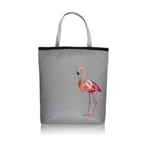 Taška Shopper Bag Plameňák, šedá