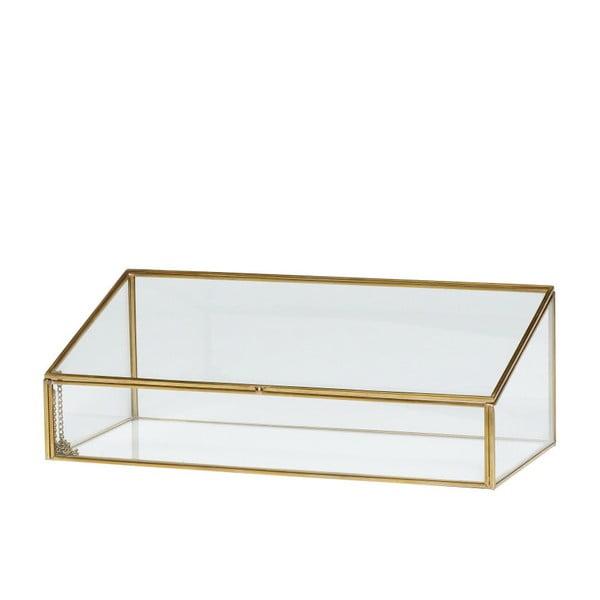 Cutie de depozitare Hubsch Leonor, sticlă