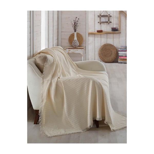 Pătură din bumbac Queen, 180 x 230 cm