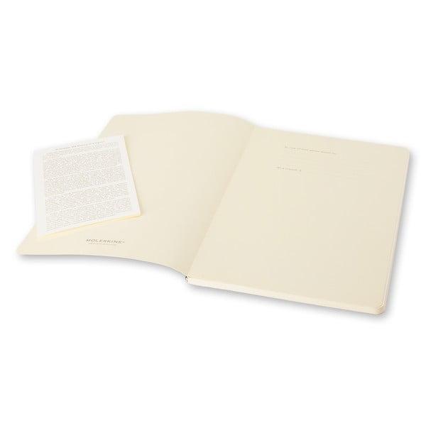 Sada 2 ks fialových zápisníků Moleskine Volant, nelinkované