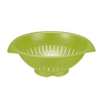 Strecurătoare salată Westmark Apple, 25 cm, verde