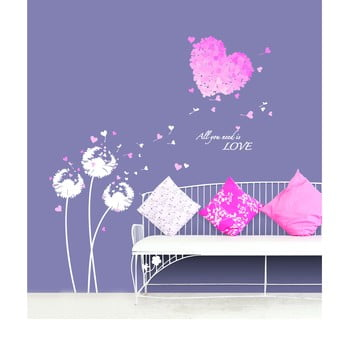Autocolant Ambiance Pink Hearts