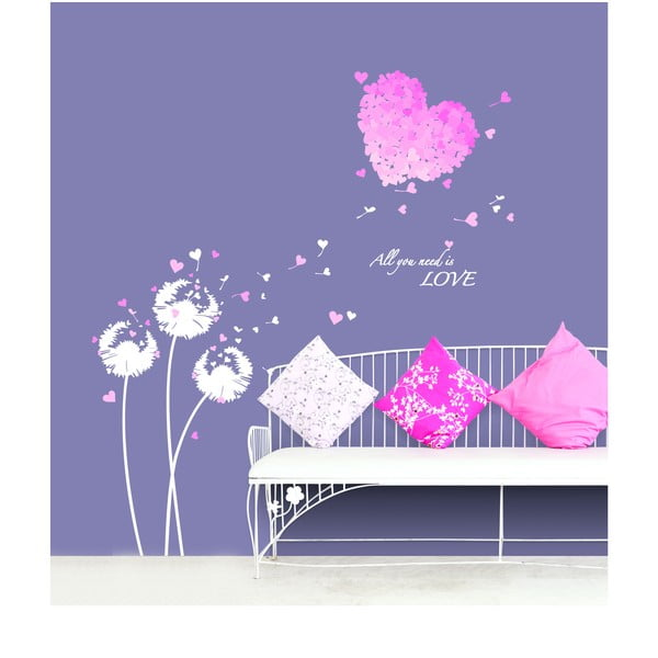 Pink Hearts matrica - Ambiance