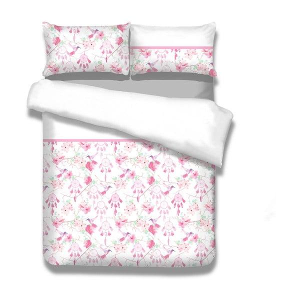 Flanelové posteľné obliečky AmeliaHome Sweet Dreams, 155 x 220 cm