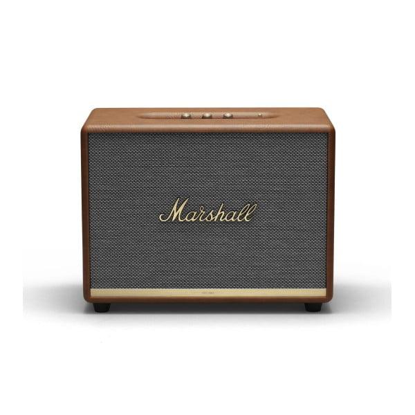 Brązowy głośnik z funkcją Bluetooth Marshall Woburn II