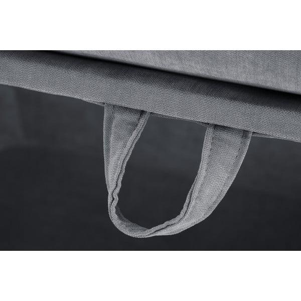 Trojdílná sedací souprava Jalouse Maison Serena, šedá