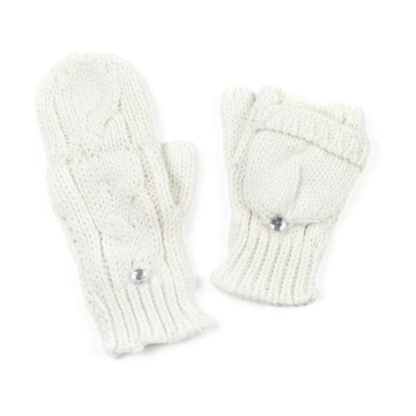 Bílé rukavice Holly