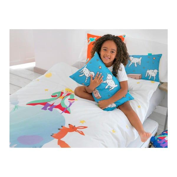 Dětské bavlněné povlečení na peřinu a polštář Mr. Fox Le Petit Prince, 140x200cm
