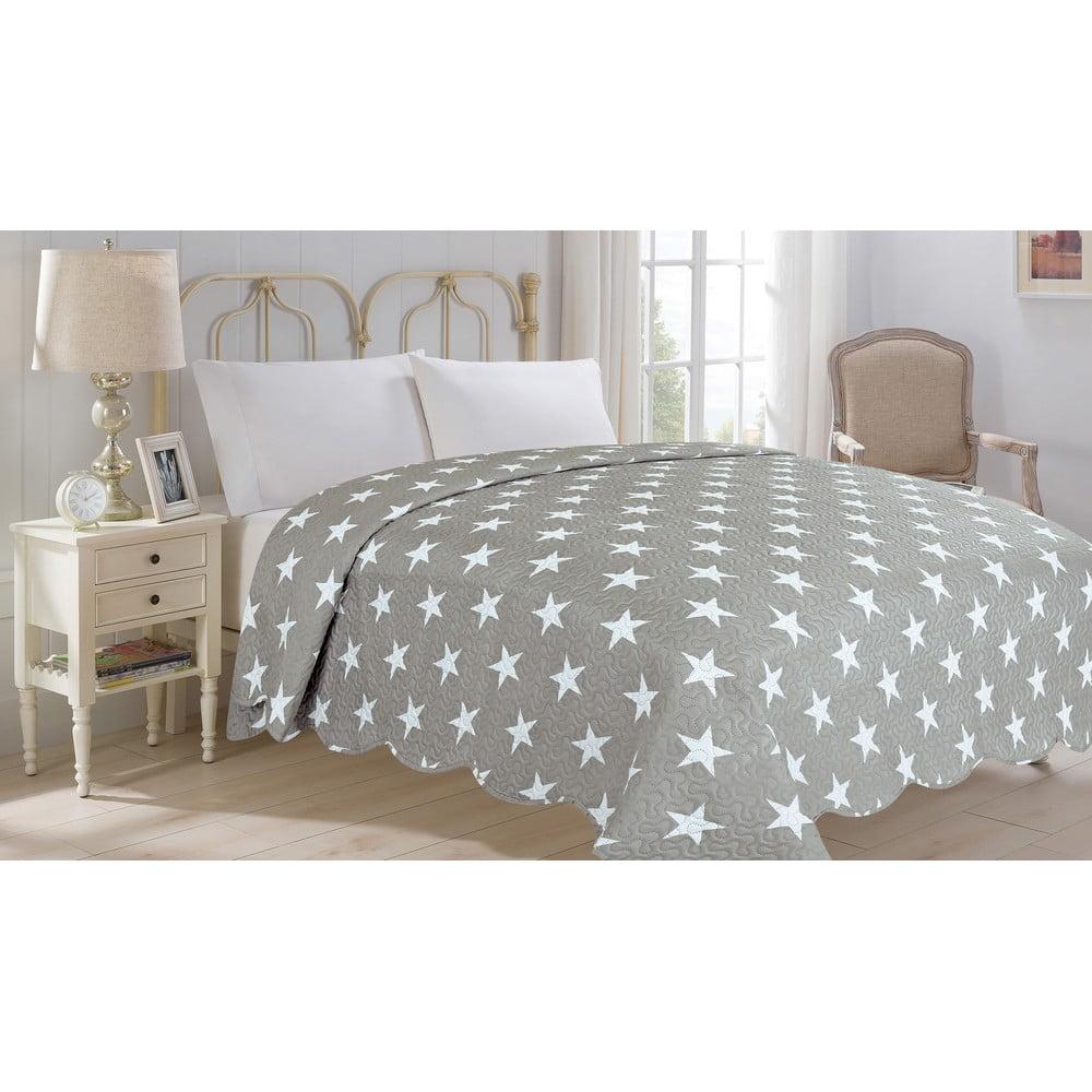 Přehoz přes postel JAHU Collection STARS, 220 x 240 cm