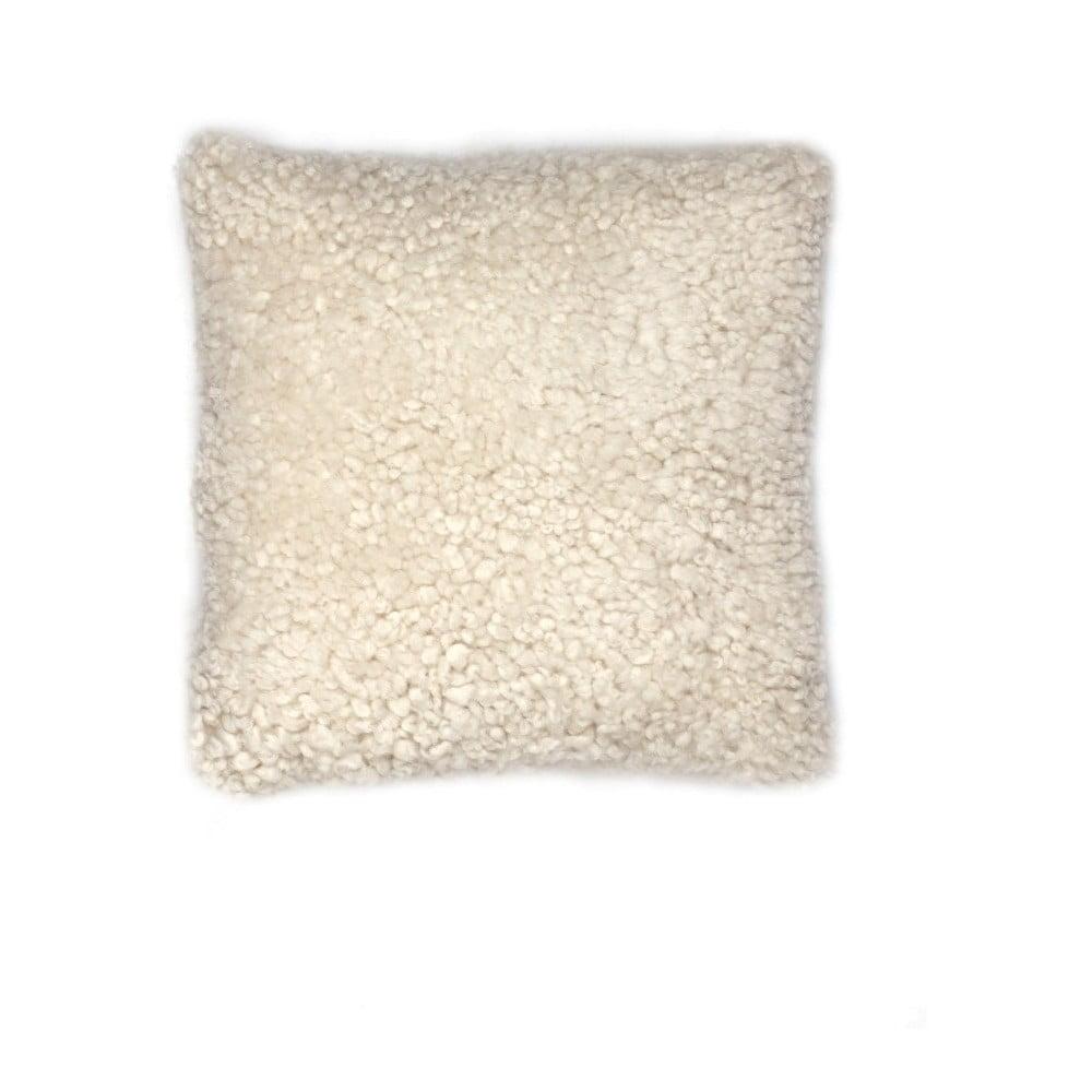 Vlněný polštář z ovčí kožešiny Auskin Banain, 35 x 35 cm