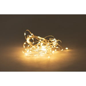 Světelný řetěz na baterky s LED žárovkami Luuka, 60 světýlek