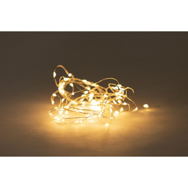 Girlanda świetlna LED na baterie Luuka, 100 lampek
