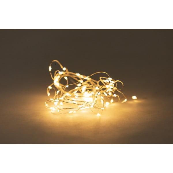 Girlanda świetlna LED na baterie, 100 lampek