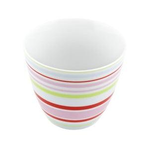 Porcelánový šálek Lines S, barevný 4 ks