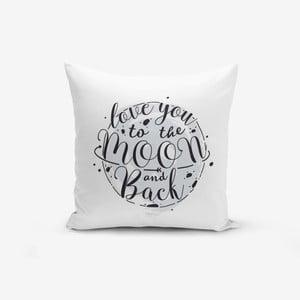 Povlak na polštář s příměsí bavlny Minimalist Cushion Covers Design,45x45cm