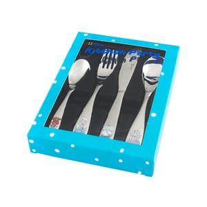 Nerez příbor Kitchen Party Blue
