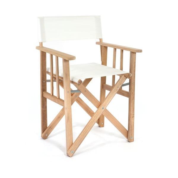Skládací židle Director, bílá
