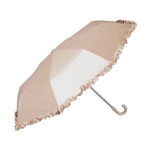 Skládací deštník v bronzové barvě Von Lilienfeld Elena