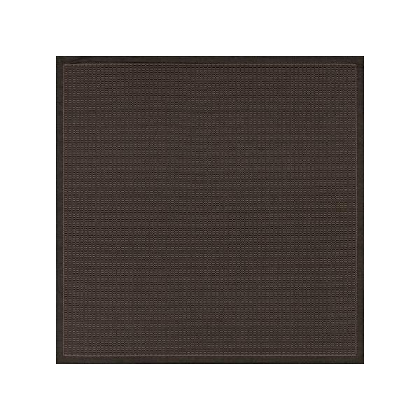 Černý venkovní koberec Floorita Tatami, 200 x 200 cm