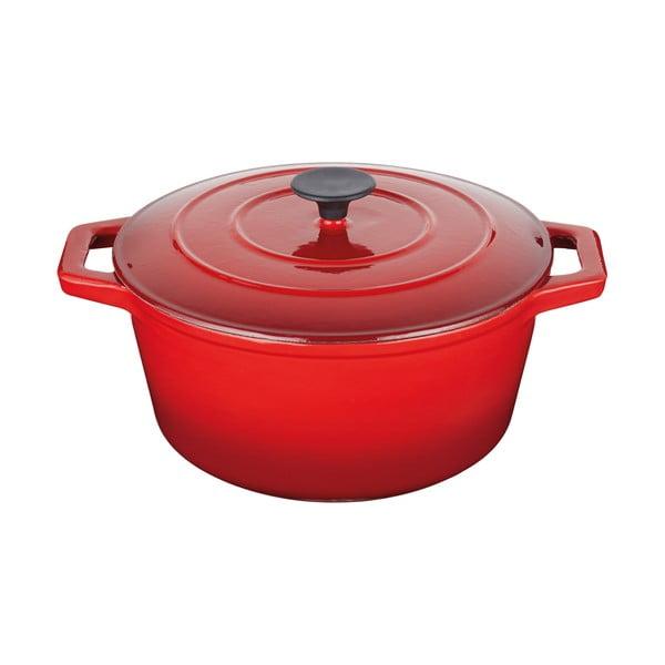 Litinový kastrol Master Class Red, 6 l