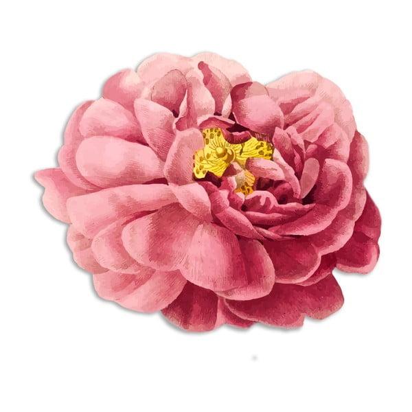 Poduszka dekoracyjna z włókien juty Madre Selva Pink Flower