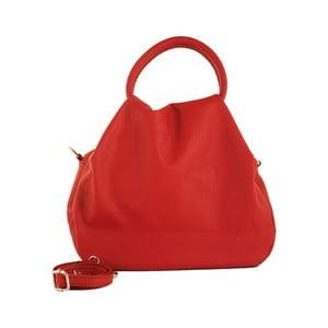 Červená kabelka z pravé kůže Andrea Cardone Dolcezza