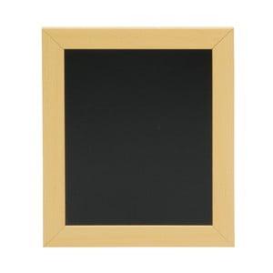 Set popisovací tabule s rámem z borového dřeva a křídového popisovače Securit® Woody Frame, 20 x 24 cm