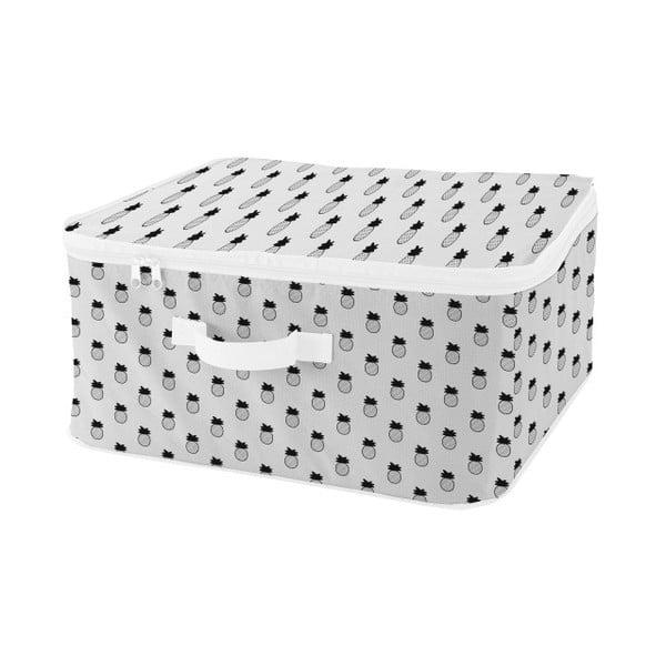 Úložný box se zipem se vzory ananasů Compactor