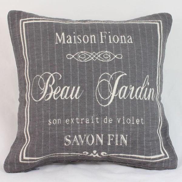 Potah na polštář Maison Fiona  40x40 cm, tmavý