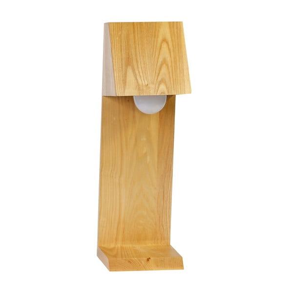Stolní lampa CASA, dřevěná