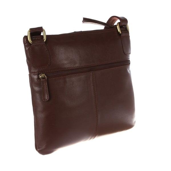 Dámská kožená taška Odella Cognac