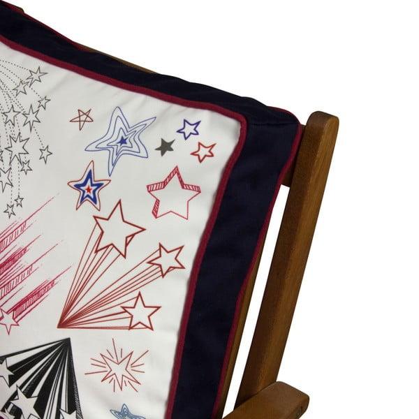 Pernă pentru scaun Gravel Comic Stars, 42x42cm,cuumplutură
