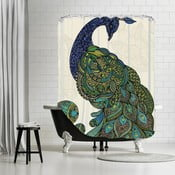 Koupelnový závěs Ostrich, 180x180 cm