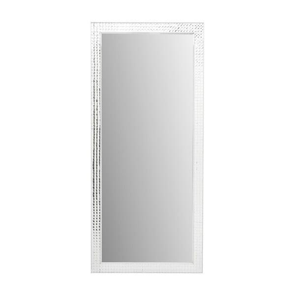 Nástěnné zrcadlo Kare Design Crystals Chrome, 180x80cm