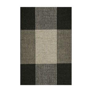 Šedý ručně tkaný vlněný koberec Linie Design Bologna, 220x220cm