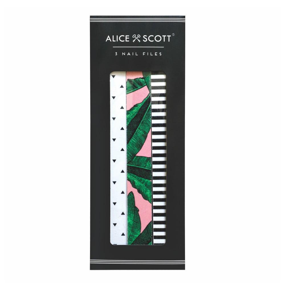 Sada 3 pilníků na nehty Portico Designs