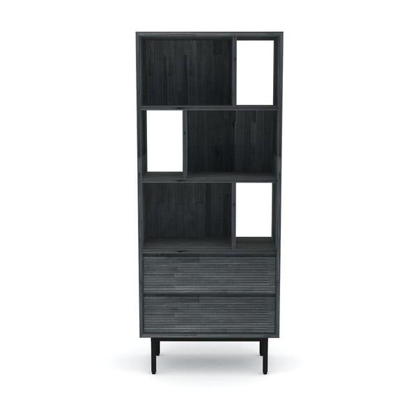 Capella akácfa könyvszekrény, magasság 170 cm - Livin Hill